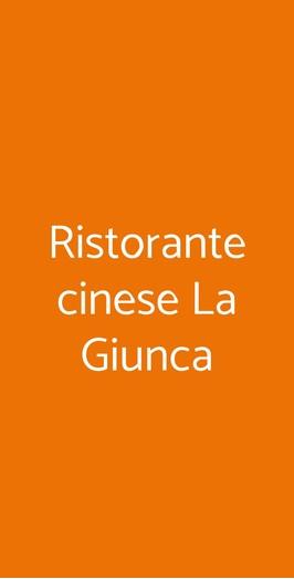 Ristorante Cinese La Giunca, Torino