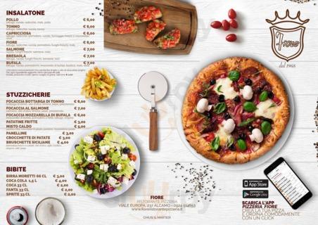 Menu Ristorante Pizzeria Fiore