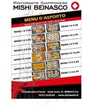 Menu Mishi Mishi