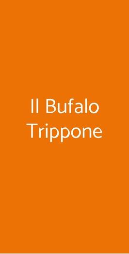 Menu Il Bufalo Trippone