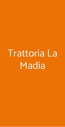 Trattoria La Madia, Torino