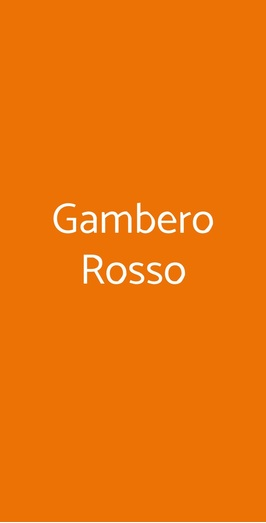 Gambero Rosso, Marina di Gioiosa Ionica