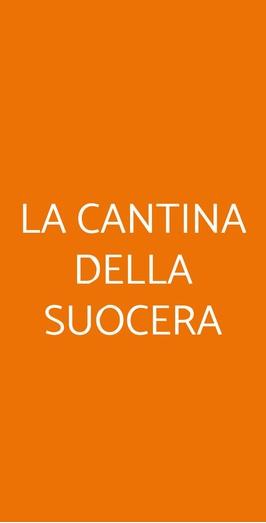La Cantina Della Suocera, Reggio Calabria