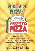 Pronto Pizza, Piacenza