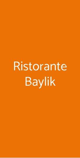 Ristorante Baylik, Reggio Calabria