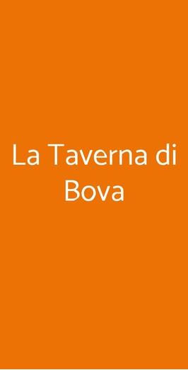 La Taverna Di Bova, Bova