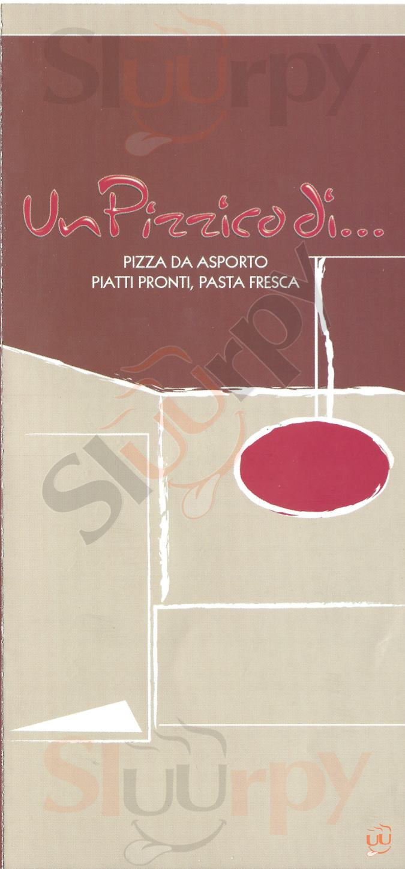 UN PIZZICO DI ... Piacenza menù 1 pagina