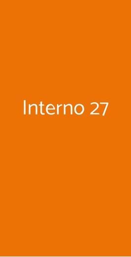 Menu Interno 27
