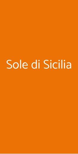 Sole Di Sicilia, Torino