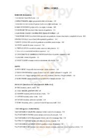 Koko The Sushi Revolution, Quartu Sant'Elena