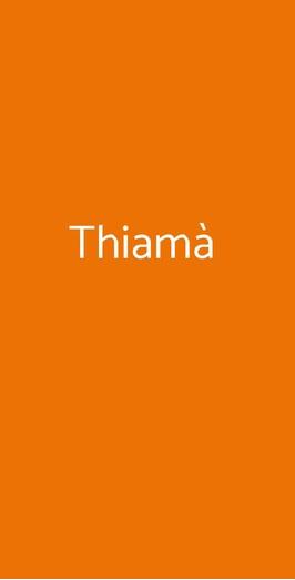 Thiamà, Cagliari