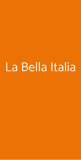 La Bella Italia, Torino