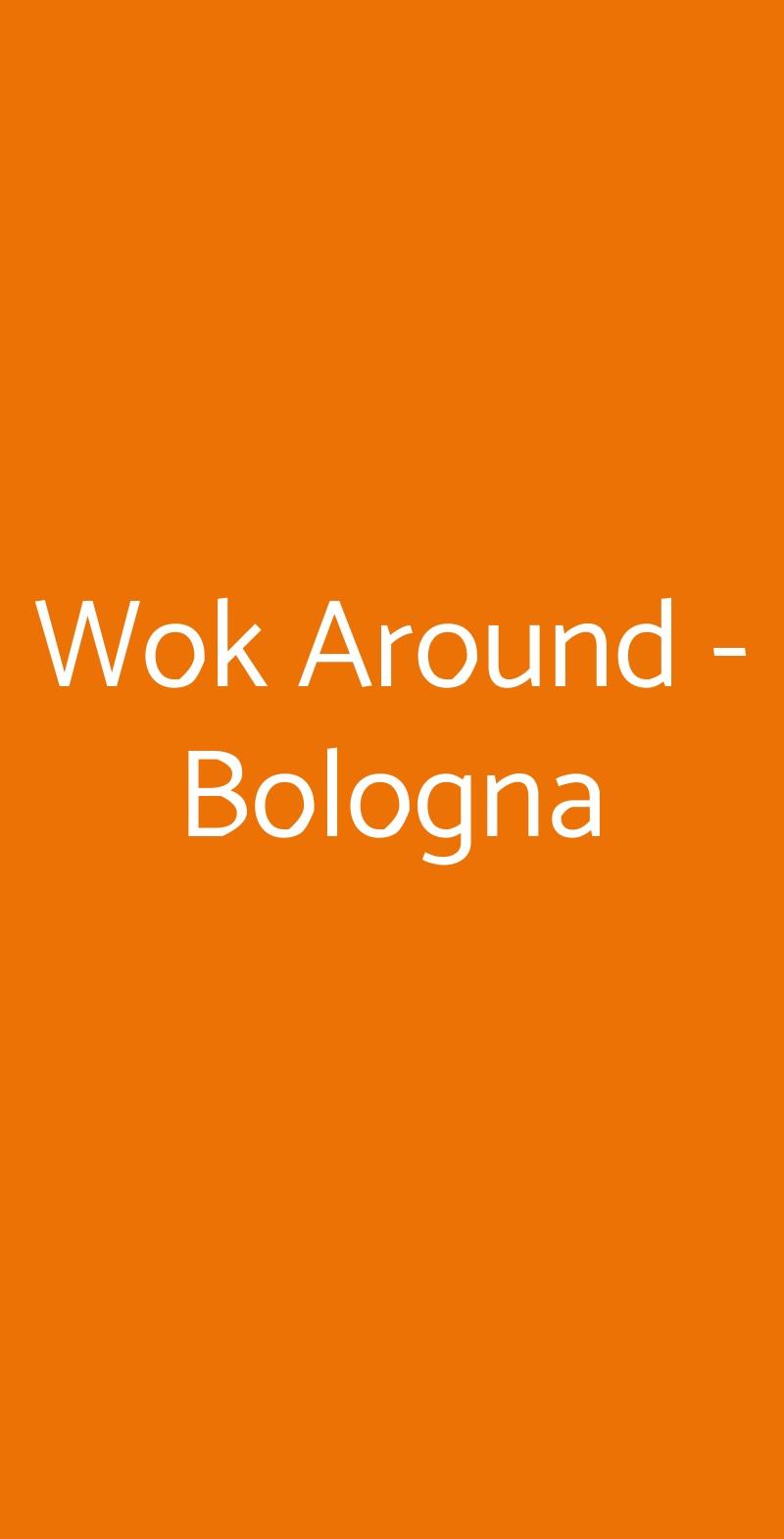 Wok Around Bologna menù 1 pagina