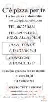 C' E' Pizza Per Te, Roma