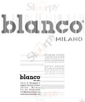 Blanco, Milano
