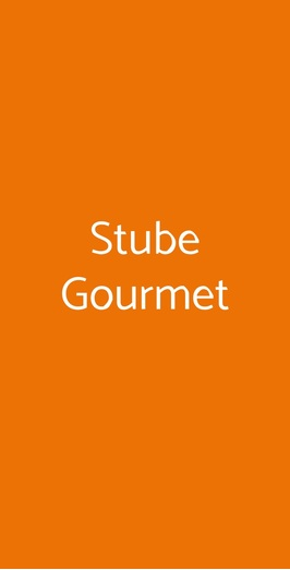 Stube Gourmet, Asiago