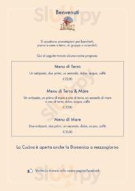 Menu Ristorante Pizzeria Stella Marina