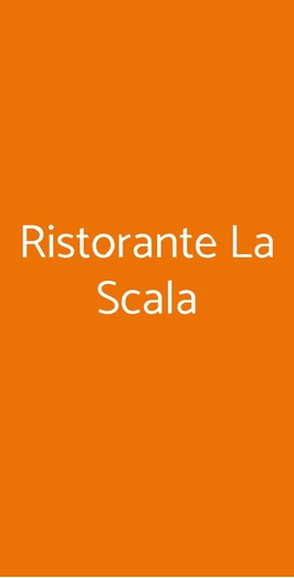 Ristorante La Scala, Abano Terme