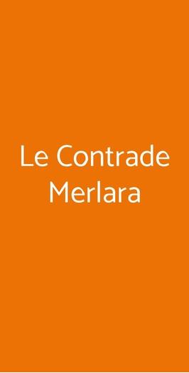 Le Contrade Merlara, Merlara