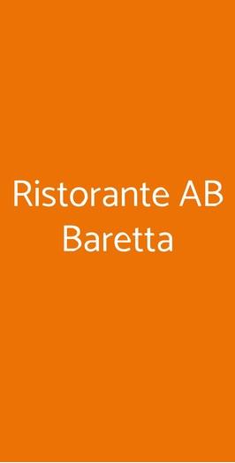Ristorante Ab Baretta, Legnaro