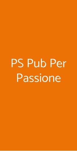 Ps Pub Per Passione, San Giorgio delle Pertiche
