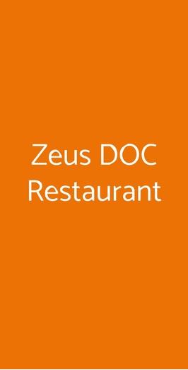 Zeus Doc Restaurant a Noventa Padovana - Menù, prezzi, recensioni ...