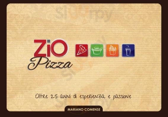 Menu Zio Pizza