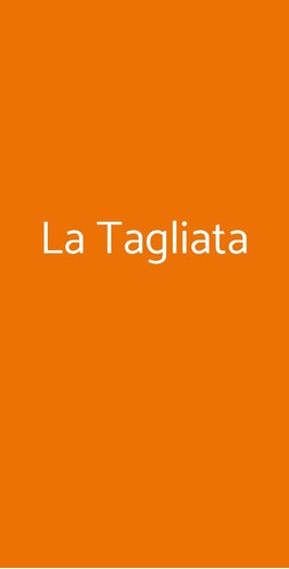 La Tagliata, Grinzane Cavour