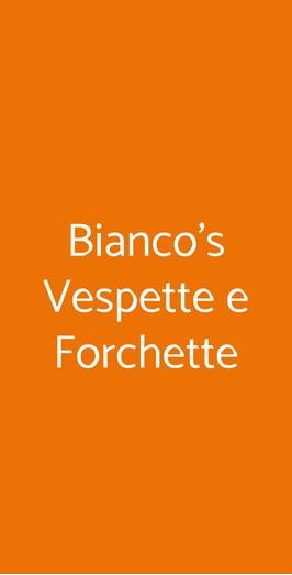 Bianco's Vespette E Forchette, Roma