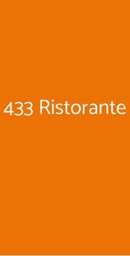 433 Ristorante, Roma