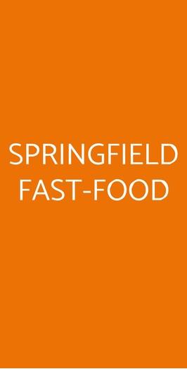 Springfield Fast-food, Avellino
