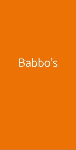 Babbo's, Roma