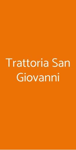 Trattoria San Giovanni, Piacenza