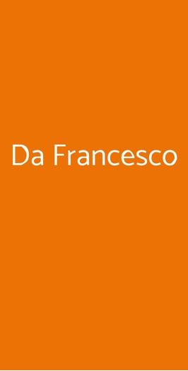 Da Francesco, Roma
