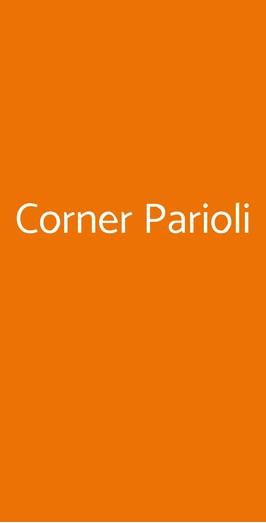 Corner Parioli, Roma