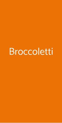 Broccoletti, Roma