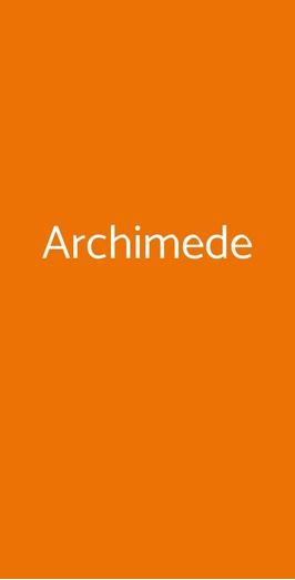 Archimede, Roma