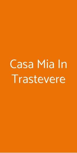 Casa Mia In Trastevere, Roma