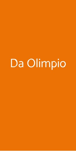 Da Olimpio, Roma