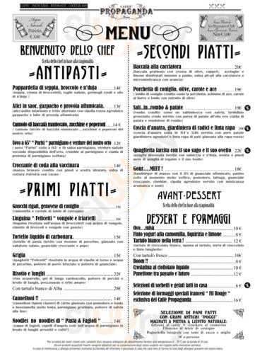 Caffe Propaganda, Roma