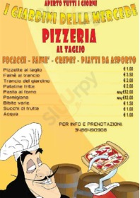 Foto del menù di Pizzeria I Giardini Della Mercede