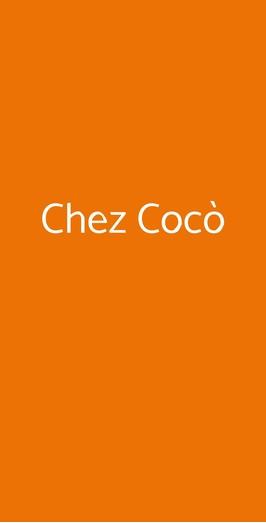 Chez Cocò, Roma