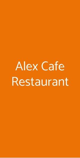 Alex Cafe Restaurant, Roma