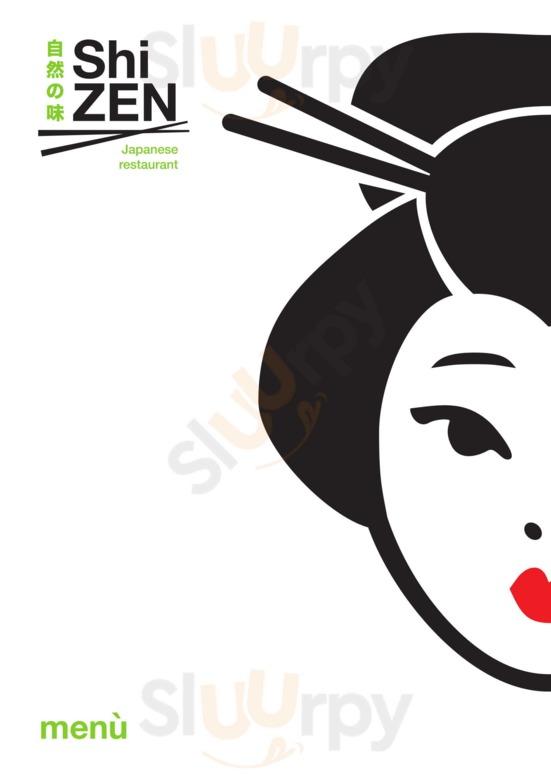 Menu ShiZEN - Ristorante Giapponese