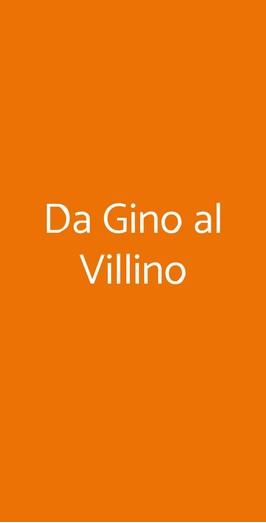 Da Gino Al Villino, Roma