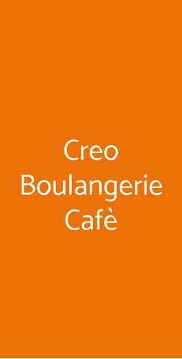 Creo Boulangerie Cafè, Roma