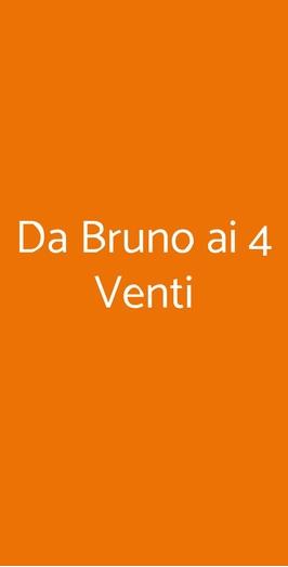 Da Bruno Ai 4 Venti, Roma