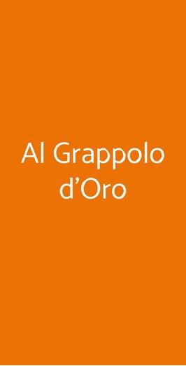 Al Grappolo D'oro, Roma