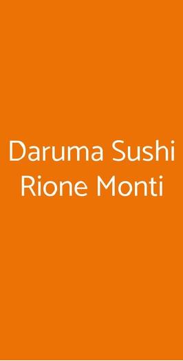 Daruma Sushi Rione Monti, Roma