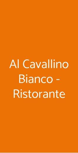 Al Cavallino Bianco - Ristorante, Roma